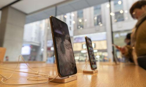 iPhones seen at Tianjin, China.